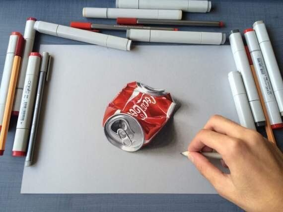 Incredible 3D Drawings And The Man Who Makes
