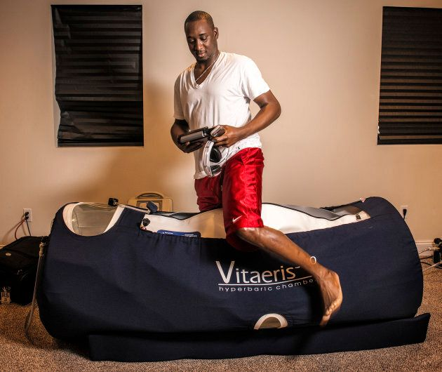 Sportspeople (like  Nationals pitcher Rafael Soriano) often use hyperbaric chambers to prevent and deal with injury.