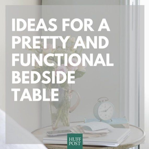 Bedside Tables: They Can Be Pretty As Well As Functional, You