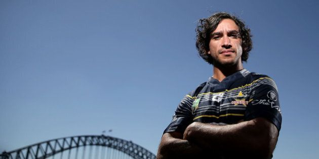 SYDNEY, AUSTRALIA - FEBRUARY 25: Cowboys captain Johnathan Thurston poses during the 2016 NRL Season...