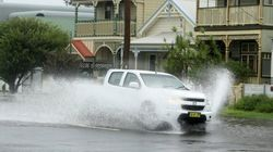 Emergency Services Have To Canoe Through NSW Towns After Crazy Rain And