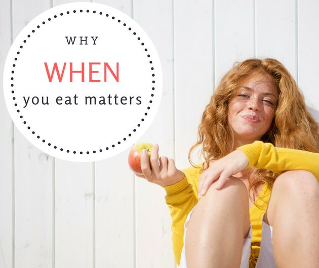 When You Eat Your Calories Does Matter. Here's