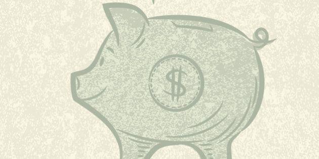 Wedding Savings Piggy Bank