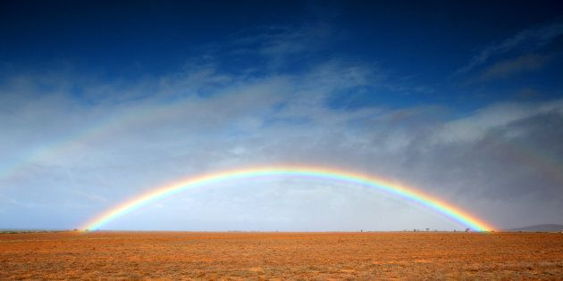 Australia's Long March Down The Aisle Is Filled With Rainbow