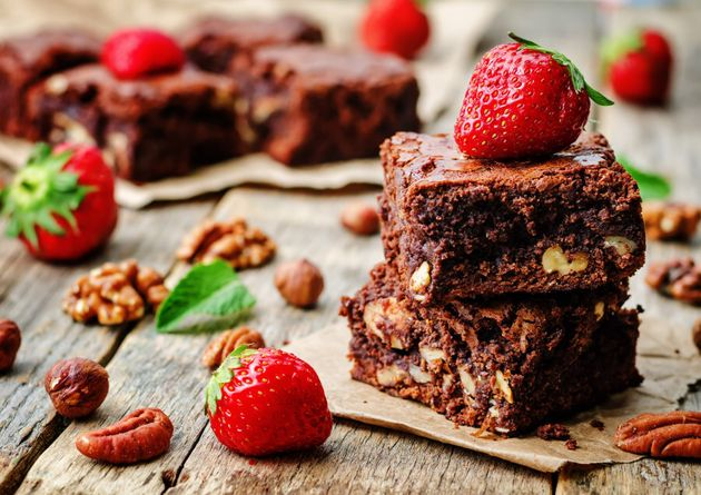 Black beans impart a fudgy texture to the brownies, and you can't even taste