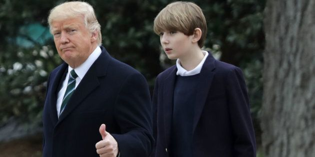 Donald Trump Has Betrayed His Youngest Child's