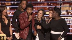 Random Stage Crasher Steals The Show At The People's Choice