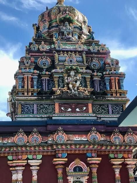 The  Sri Siva Subramaniya Swami temple