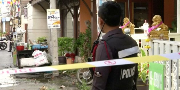 DFAT wants Australians to be careful about travelling to Thailand in the wake of fatal bomb