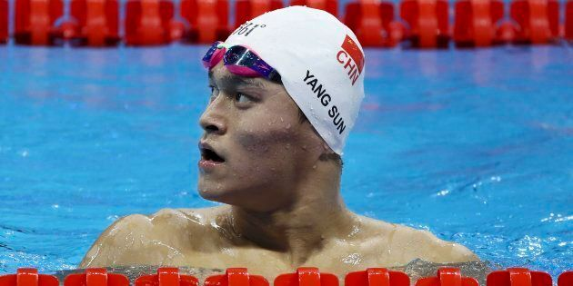 China's Sun Yang will miss the 1500m Rio Olympics