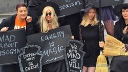 Women Are Dressing As Witches To Protest Peter Dutton's 'Mad F*cking Witch'
