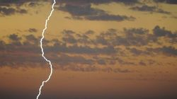 Lightning Sparks Fires In