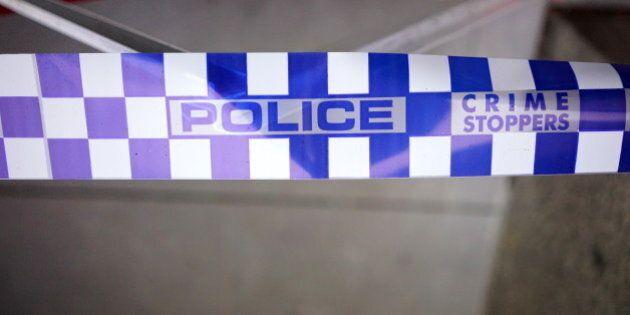 Victorian Police barrier/crime scene tapeMelbourne,