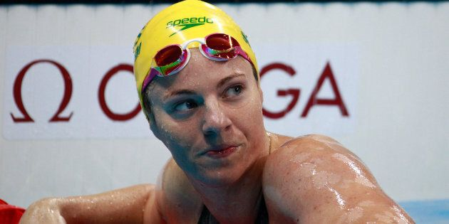 Emily Seebohm won a relay medal, but did nothing in the two individual backstroke events in which she...