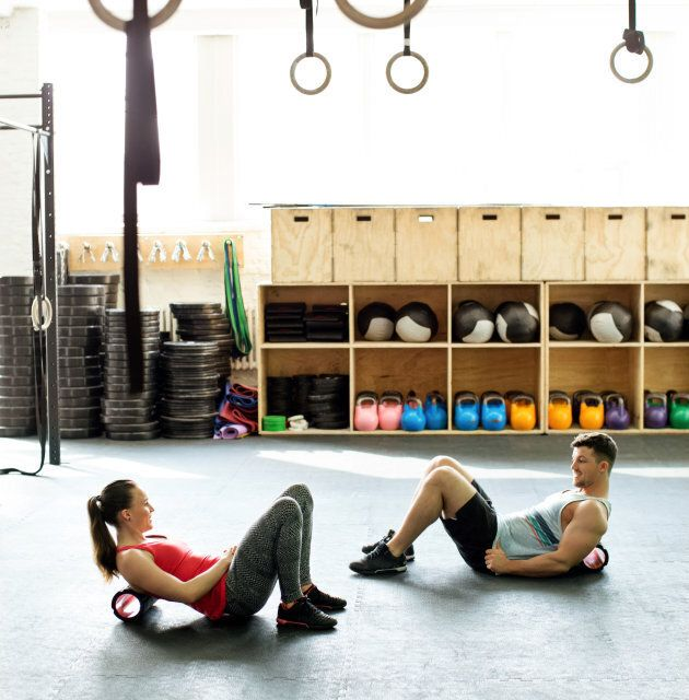 Foam rollers are a key part of