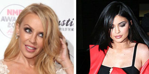 Kylie Minogue Is Preventing Kylie Jenner From Trademarking Their