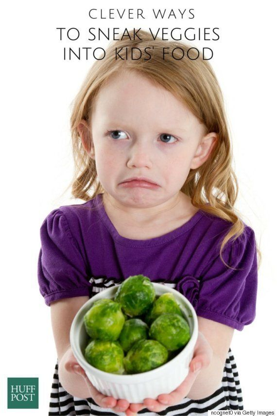 Clever Ways To Sneak Veggies Into Kids'