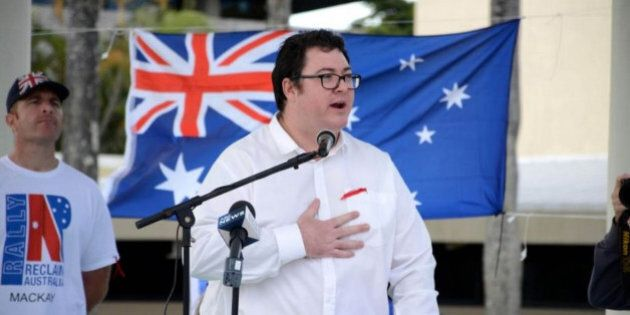 George Christensen Introduces Flag Burning