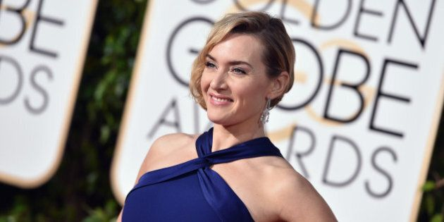 BEVERLY HILLS, CA - JANUARY 10: Actress Kate Winslet attends the 73rd Annual Golden Globe Awards held...