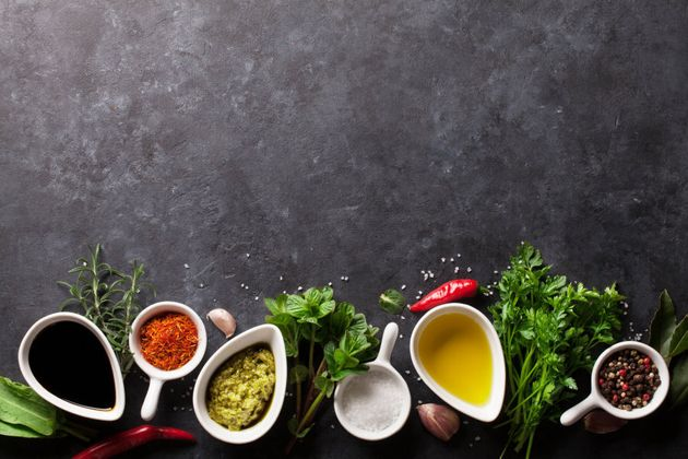 Make your own salad dressings using olive oil, vinegar, mustard, lemon, herbs, spices and nut
