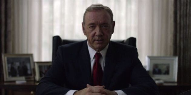 New House Of Cards Trailer Drops During The Golden