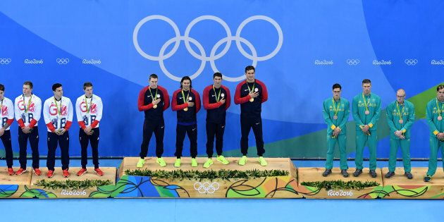 Our Olympic swimming team are role