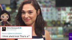 Wonder Woman Just Challenged Thor To A
