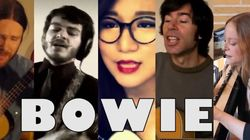 A Mashup Of David Bowie's 'Space Oddity' Covered By Fans Around The