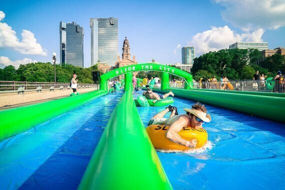 A Giant Waterslide Is Coming To Sydney's Centennial