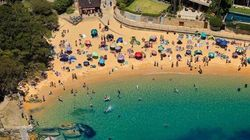 Spectacular Aerial Pictures Of Sydney's Beaches On New Year's