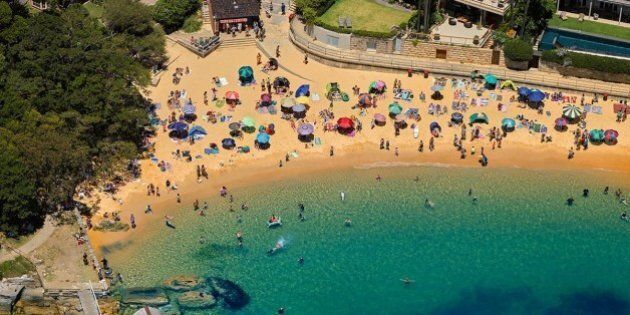 Check Out Sydney's Beaches From The Air On New Year's Day With Photographer Joel Coleman's