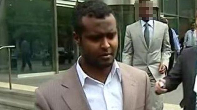 Yacqub Khayre outside court on December 23, 2010 after being acquitted of helping plot a terror attack...