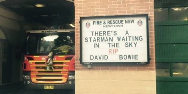Newtown Fire Station Farewells David