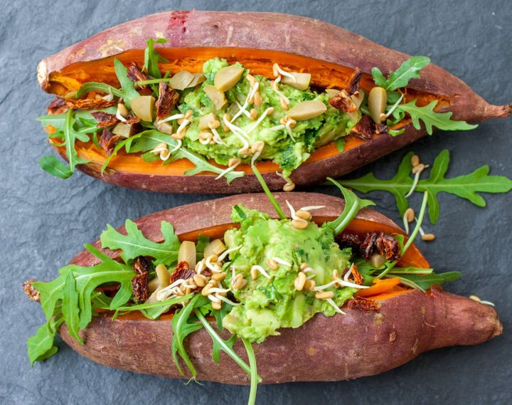 Remember to count sweet potatoes in your 'carb' portion.