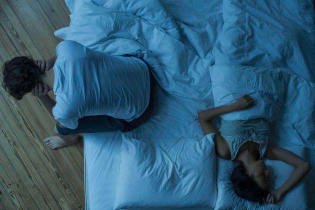 It's even worse if your partner is slumbering away