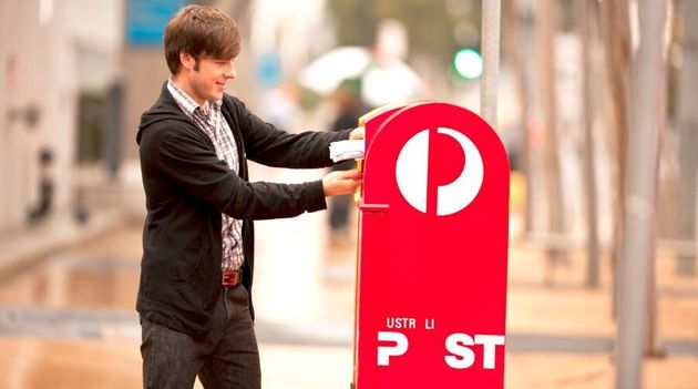 Australia Post is missing it's 'A's and its