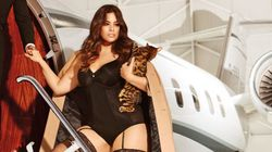 This Plus-Size Lingerie Shoot Is First Class All The