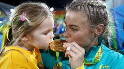 13 Heartwarming Photos Of Olympians Celebrating With Their