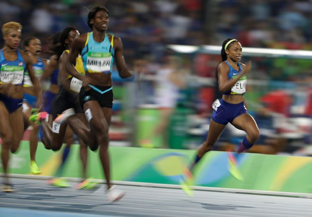 Shaunae Miller goes toe-to-toe with Allyson