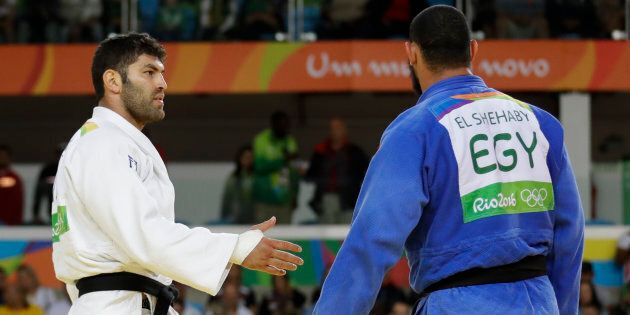Geopolitics trumps sportsmanship in one judo