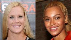 Say Whaat? UFC Champion Holly Holm Asked Beyoncé What Her Name