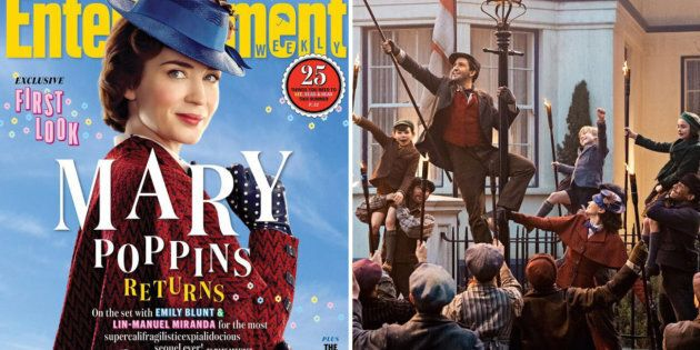 Here's The First Look At 'Mary Poppins