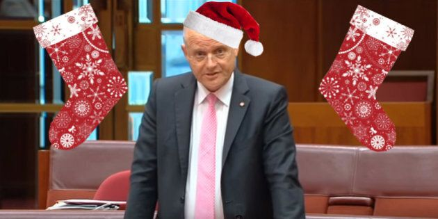 David Leyonhjelm Sings 12 Days Of Christmas In The