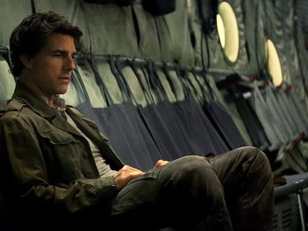 At least he's good at running. Tom Cruise as Nick Morton in 'The