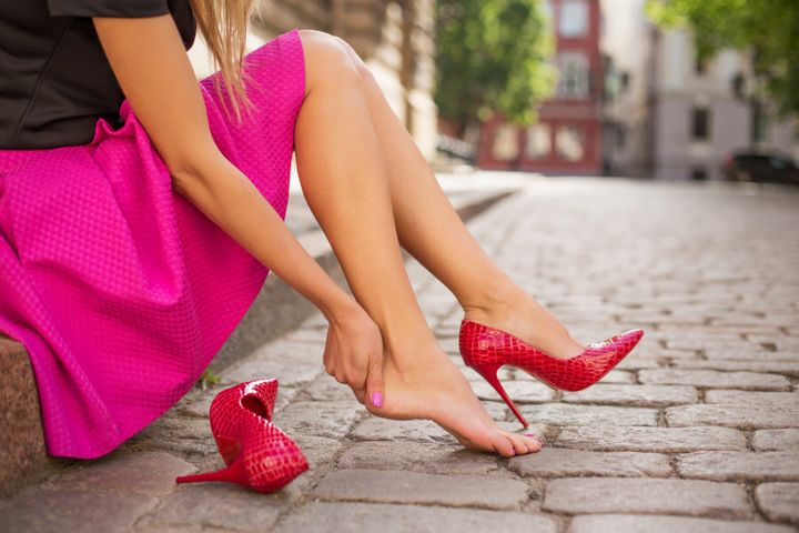 Wearing heels all the time can really put your feet through the wringer.