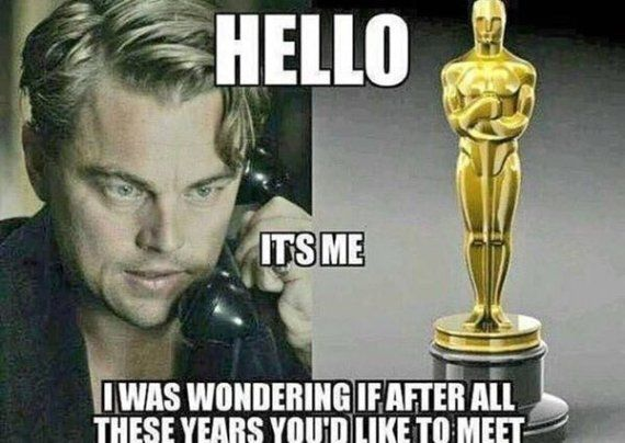 Leonardo DiCaprio Wins Academy Award for Best Actor In 'The