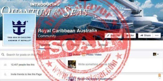 NSW Police Urge Aussies To Be Wary of 'Royal Caribbean Australia' Facebook