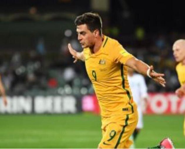 Tomi Juric celebrating a second
