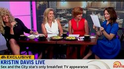 Kristin Davis Agrees That Cringeworthy 'Sunrise' Skit Was