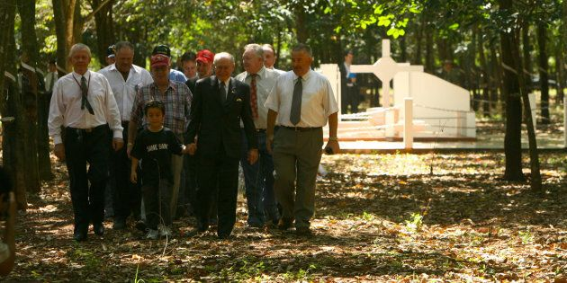 Memorial services for Vietnam Veterans Day have been held at Long Tan since